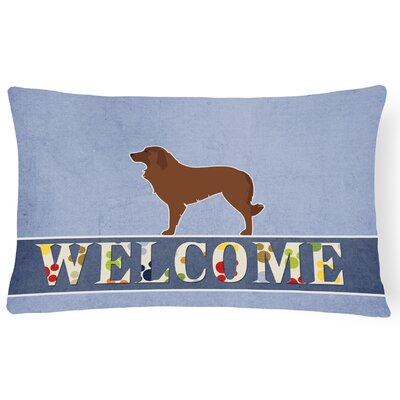 Du Bois Portuguese Sheepdog Dog Welcome Lumbar Pillow