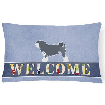 Dufresne Lowchen Welcome Lumbar Pillow