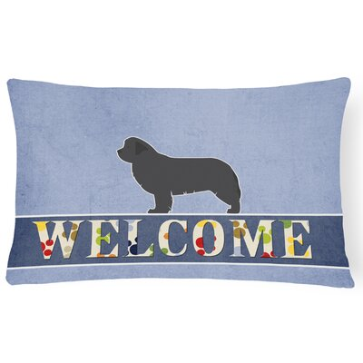 Ehlert Newfoundland Welcome Lumbar Pillow