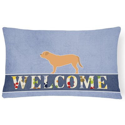 Lostant Dogue de Bordeaux Welcome Lumbar Pillow