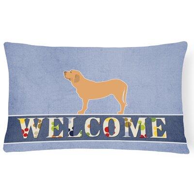 Dansville Fila Brasileiro Welcome Lumbar Pillow