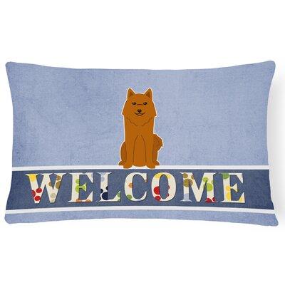 Haston Karelian Bear Dog Welcome Lumbar Pillow