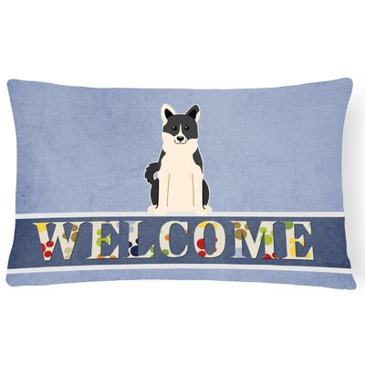 Hawthorn Russo-European Laika Spitz Welcome Lumbar Pillow
