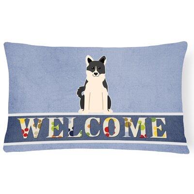 Hawthorn Russo-European Laika Spitz Welcome Lumbar Pillow