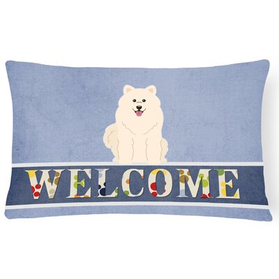 Hayner Samoyed Welcome Lumbar Pillow