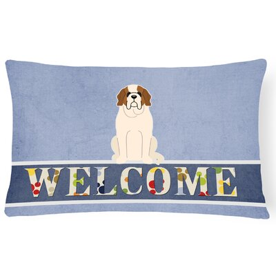Heimann Saint Bernard Welcome Lumbar Pillow