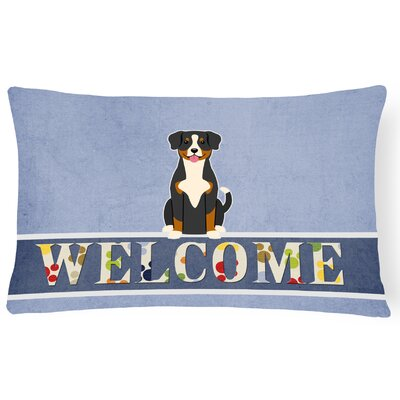 Heisler Entlebucher Welcome Lumbar Pillow