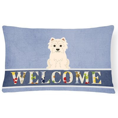 Hendrickson Westie Welcome Lumbar Pillow
