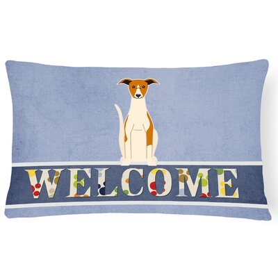 Richboro Whippet Welcome Lumbar Pillow
