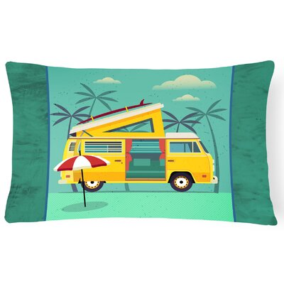 Greatest Adventure Camper Van Lumbar Pillow
