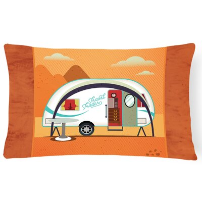 Greatest Adventure New Camper Lumbar Pillow