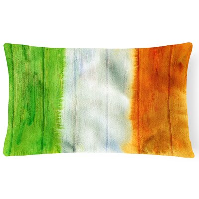Coatesville Irish Flag on Wood Lumbar Pillow