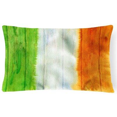 Coatesville Irish Flag on Wood Lumbar Pillow