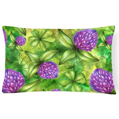 Shamrocks in Bloom Lumbar Pillow