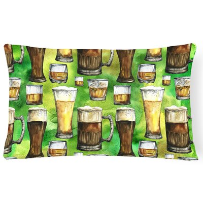 Irish Beers Lumbar Pillow