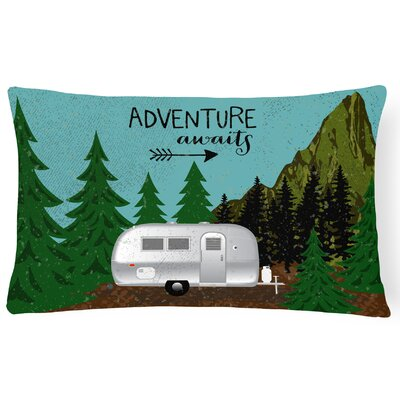 Jarratt Airstream Camper Adventure Awaits Lumbar Pillow