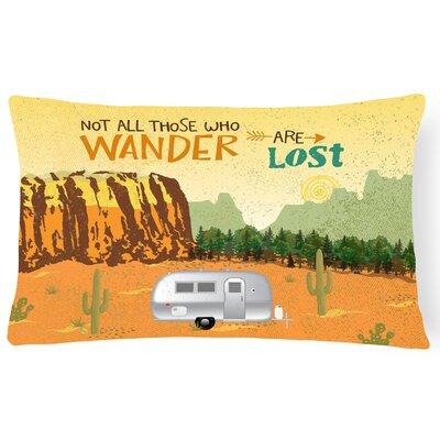 McKenney Airstream Camper Camping Wander Lumbar Pillow