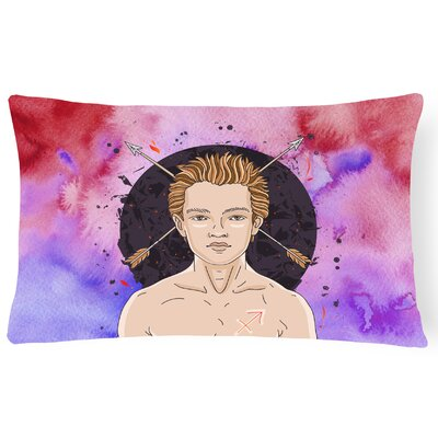 Sagittarius Zodiac Sign Lumbar Pillow