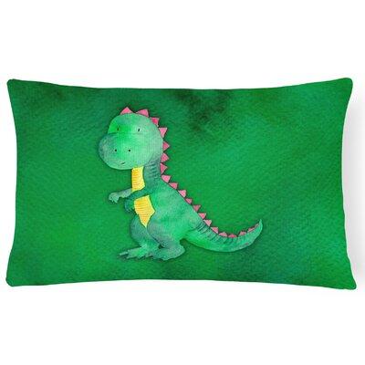 Sanders Tyrannosaurus Rex Watercolor Lumbar Pillow