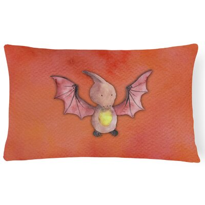 Sandra Pterodactyl Watercolor Lumbar Pillow