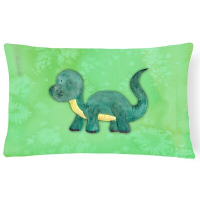 Harris Brontosaurus Watercolor Lumbar Pillow