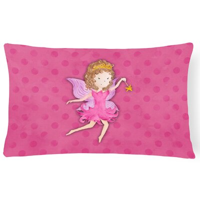 Sawyer Princess Watercolor Lumbar Pillow