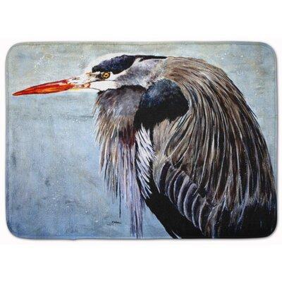 Blue Heron Memory Foam Bath Rug