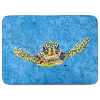Turtle Machine Foam Bath Rug