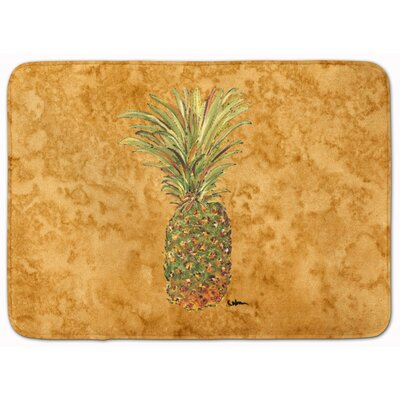 Azalea Pineapple Machine Foam Bath Rug