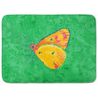 Butterfly Memory Foam Bath Rug