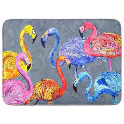 Flamingo Six Senses Memory Foam Bath Rug