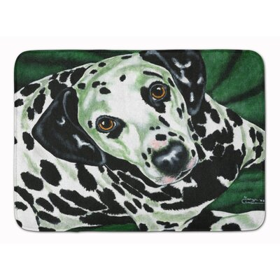 Emerald Beauty Dalmatian Memory Foam Bath Rug