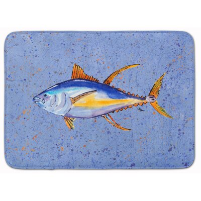 Tuna Fish Memory Foam Bath Rug