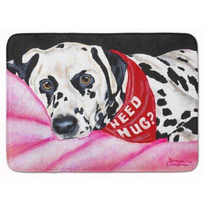 Need a Hug Dalmatian Memory Foam Bath Rug