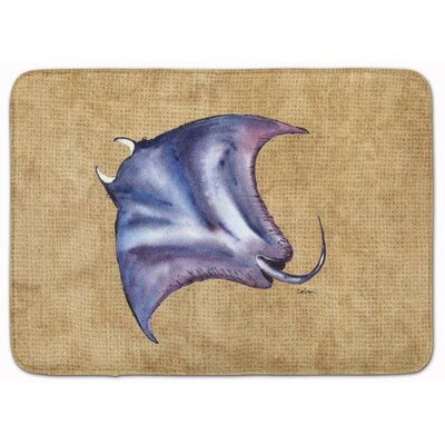 Unionville Stingray Memory Foam Bath Rug