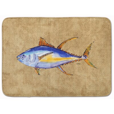 Fish Memory Foam Bath Rug