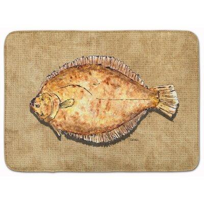 Flounder Memory Foam Bath Rug