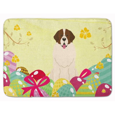 Easter Eggs Moscow Watchdog Memory Foam Bath Rug