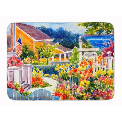 Mooresville Seaside Beach Cottage Memory Foam Bath Rug