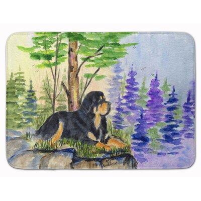 Tibetan Mastiff Memory Foam Bath Rug