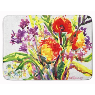 Flower Memory Foam Bath Rug