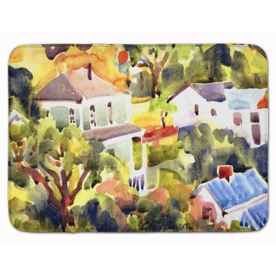 Houses Memory Foam Bath Rug