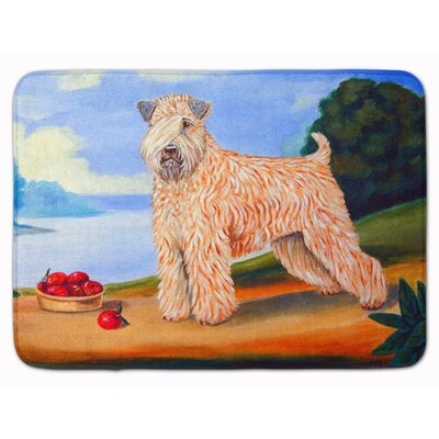 Wheaten Terrier Soft Coated Memory Foam Bath Rug