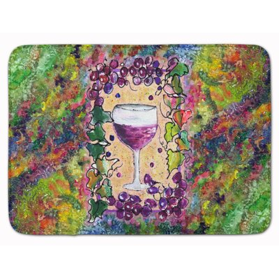 Wine Memory Foam Bath Rug