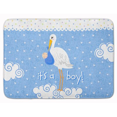 Its a Baby Boy Memory Foam Bath Rug