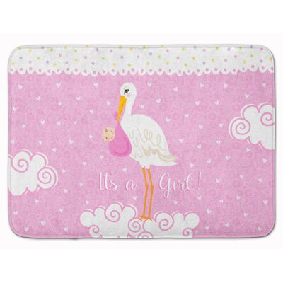 Its a Baby Girl Memory Foam Bath Rug