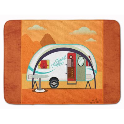 Cress New Camper Memory Foam Bath Rug