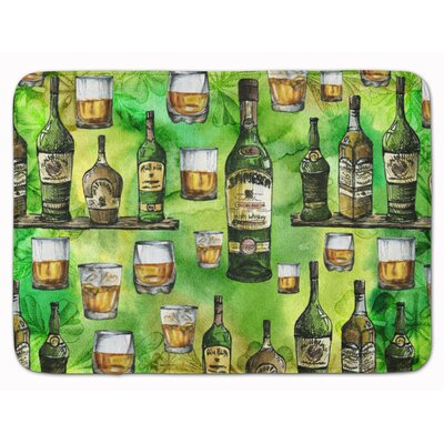 Irish Whiskey Memory Foam Bath Rug