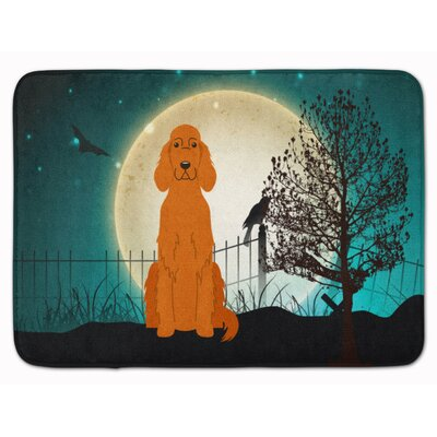 Testa Scary Irish Setter Memory Foam Bath Rug