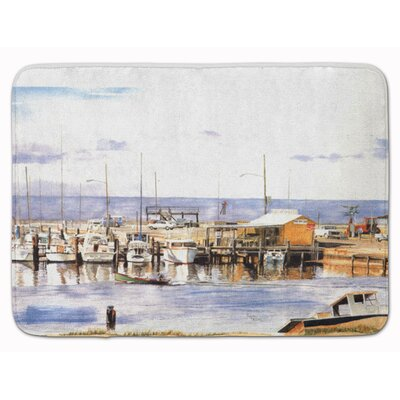 Creedmoor Pass Bait Shop Memory Foam Bath Rug